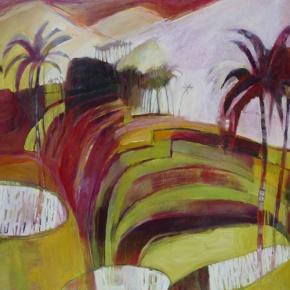 Debbie MacKinnon, Waiting For Dusk, 2013. Oil on canvas, 122 x 91cm. $3,900