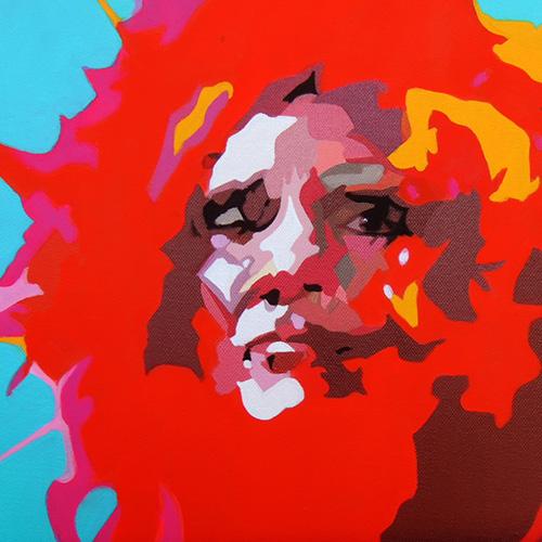 Amaya Iturri, My favourite movies, 2012. Acrylic on canvas, 40 x 30cm. $1,000