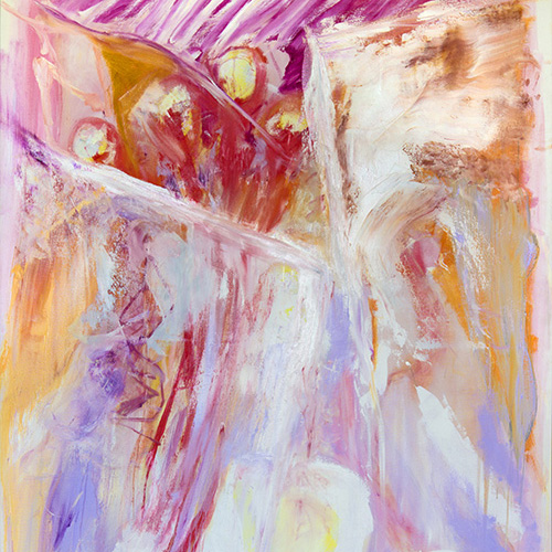 Trenton Shipley, Printemps Rhythm, oil on canvas, 143 x 205cm. $6,500