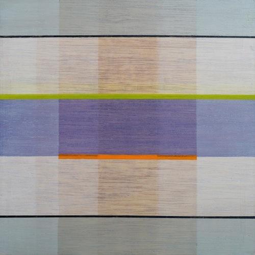 Beth Kirkland, Landscape 6. Acrylic on marine ply, 30 x 30cm. $600