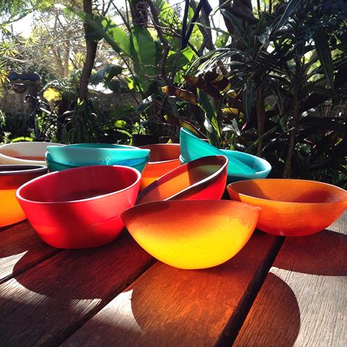 Rita Orsini, Osso Buco bowls, 2015. Resin and pigments, 9 x 5cm, $65